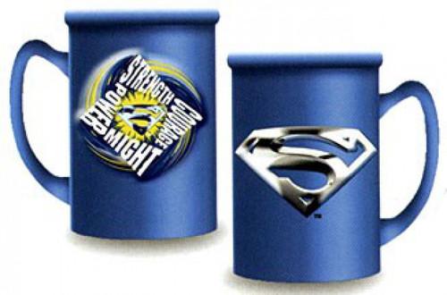 Superman Returns Strength Courage Power Might Cermaic Mug