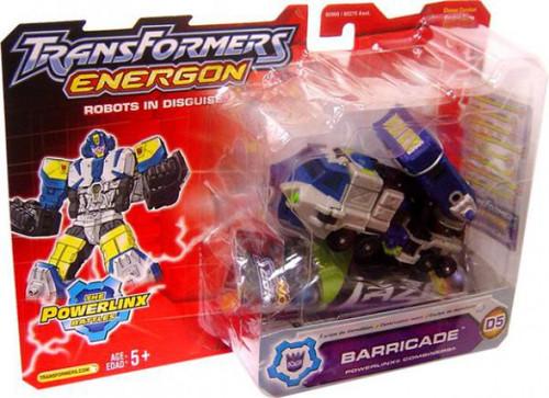 Transformers Energon The Powerlinx Battles Barricade Deluxe Action Figure