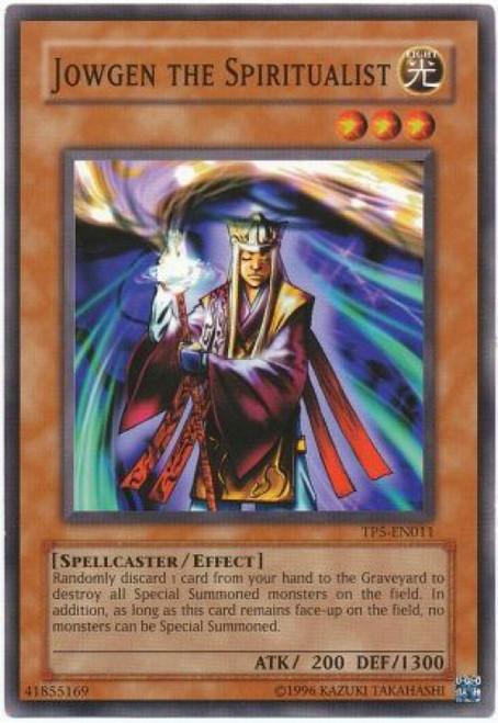 YuGiOh Tournament Pack 5 Common Jowgen the Spiritualist TP5-EN011
