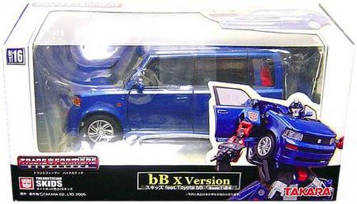 Transformers Japanese Binaltech Toyota Scion B Skids Action Figure BT-16