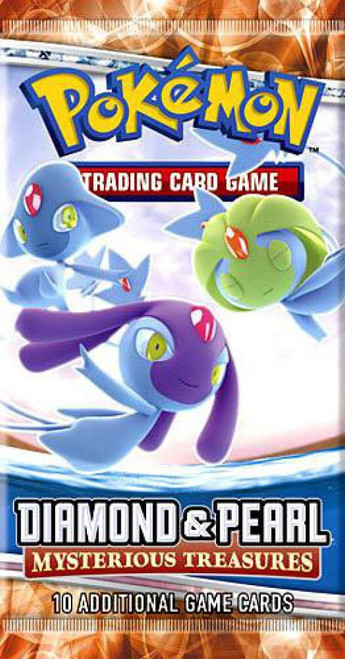Pokemon Trading Card Game Diamond & Pearl Mysterious Treasures Booster Pack [10 Cards]