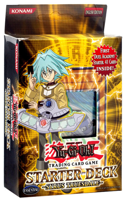 YuGiOh Trading Card Game Starter Deck: Syrus Truesdale Syrus Truesdale Starter Deck