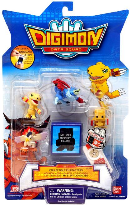 Digimon Data Squad Set 1 PVC Figures