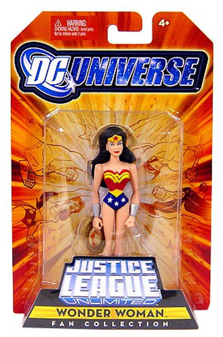 DC Universe Justice League Unlimited Fan Collection Wonder Woman Action Figure