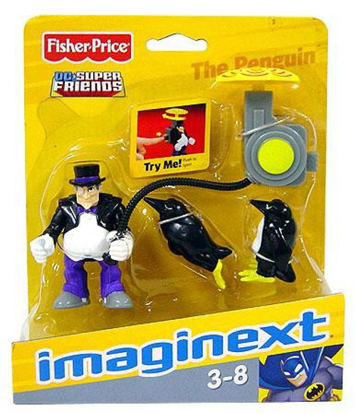 Fisher Price DC Super Friends Imaginext The Penguin 3-Inch Mini Figure
