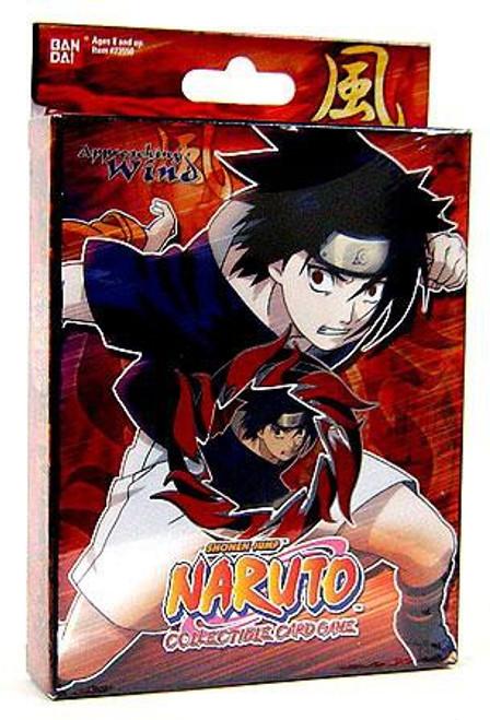 Naruto Card Game Approaching Wind Blazing Flame Sasuke Theme Deck