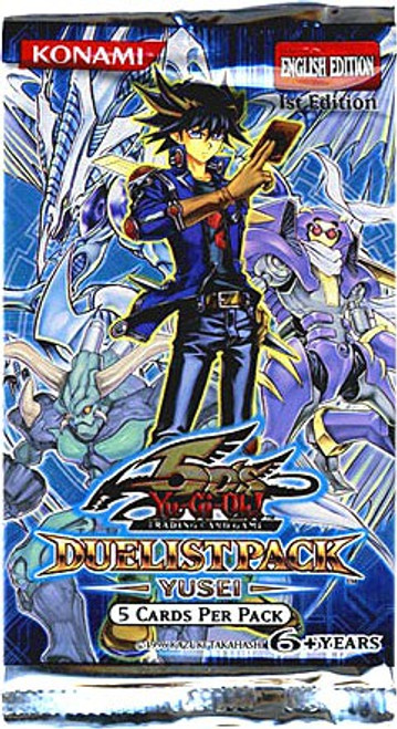 YuGiOh Trading Card Game Duelist Pack Yusei Booster Pack [5 Cards]