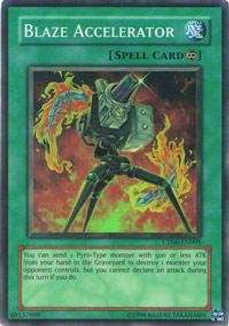 YuGiOh GX Trading Card Game Champion Pack: Game 6 Super Rare Blaze Accelerator CP06-EN005
