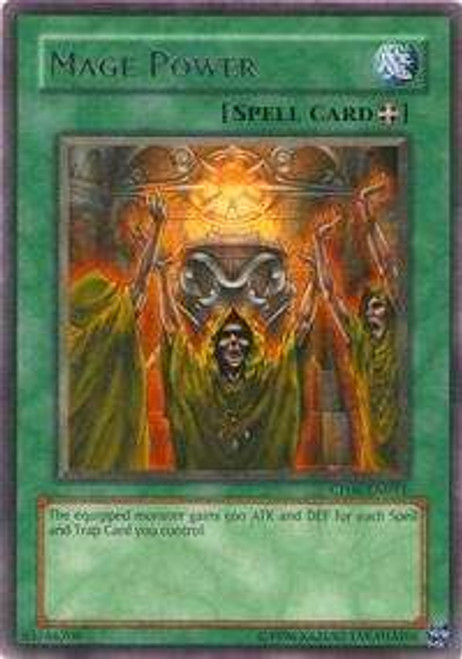 YuGiOh GX Trading Card Game Champion Pack: Game 6 Rare Mage Power CP06-EN011