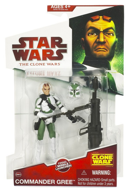 Star Wars The Clone Wars 2009 Commander Gree Action Figure CW09
