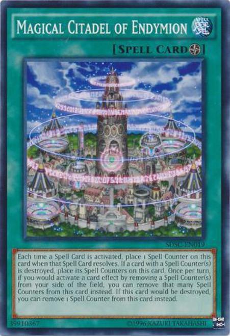 YuGiOh YuGiOh 5D's Structure Deck: Spellcaster's Command Common Magical Citadel of Endymion SDSC-EN019