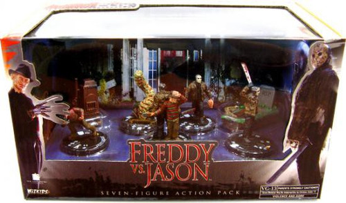 Freddy Vs Jason Freddy vs. Jason Action Figure 7-Pack