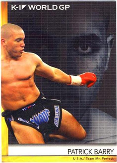 MMA K-1 World GP Patrick Barry #31