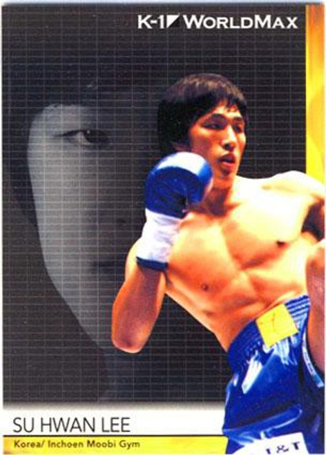 MMA K-1 World GP Su Hwan Lee #37