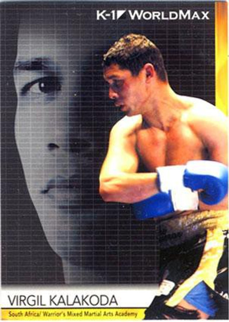 MMA K-1 World GP Virgil Kalakoda #41
