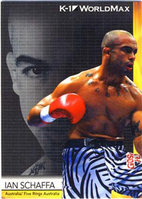 MMA K-1 World GP Ian Schaffa #55