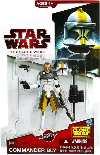 Star Wars The Clone Wars 2009 Commander Bly Action Figure CW39