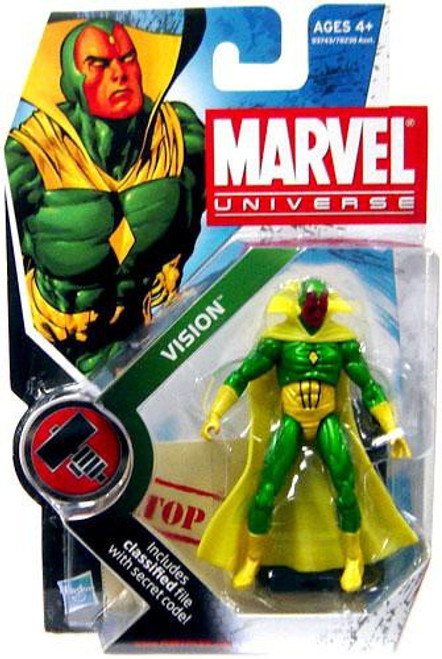 Marvel Universe Series 6 Vision Action Figure #6 [Full Color]
