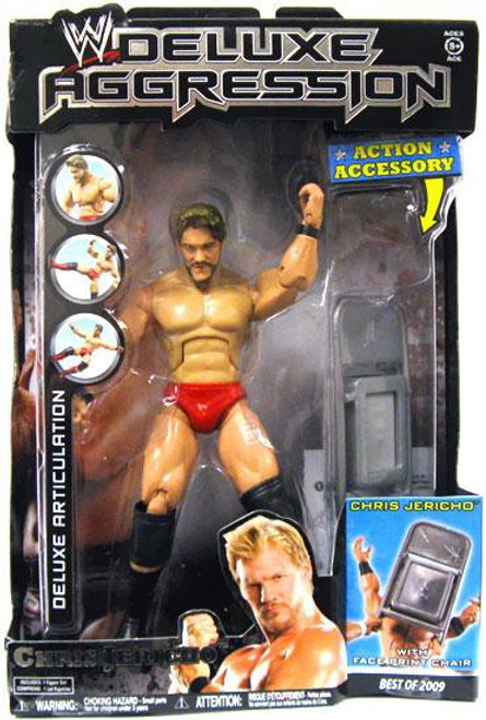 WWE Wrestling Deluxe Aggression Best of 2009 Chris Jericho Action Figure
