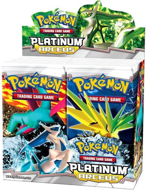Pokemon Trading Card Game Platinum Arceus Booster Box [36 Packs]