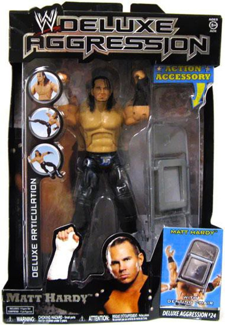 WWE Wrestling Deluxe Aggression Series 24 Matt Hardy Action Figure