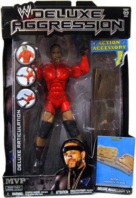 WWE Wrestling Deluxe Aggression Series 24 MVP Action Figure