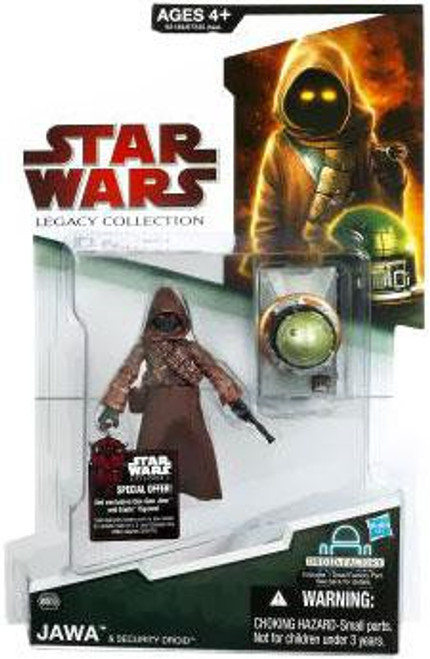 Star Wars A New Hope 2009 Legacy Collection Droid Factory Jawa Action Figure #39