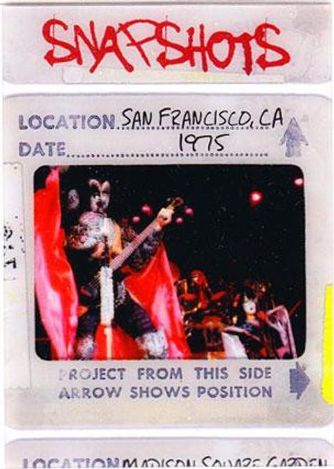 KISS 360 Degrees Snapshots Card San Francisco, CA 1975 #4/12