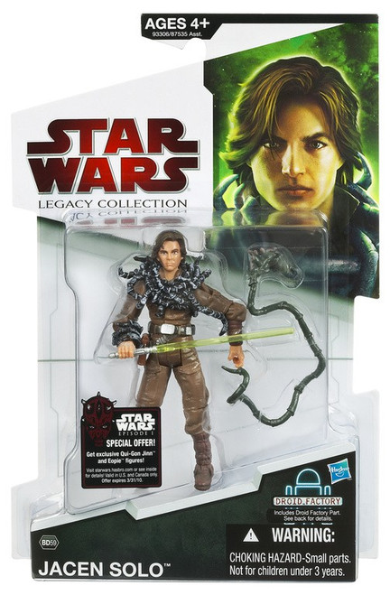 Star Wars Expanded Universe 2009 Legacy Collection Droid Factory Jacen Solo Action Figure BD59