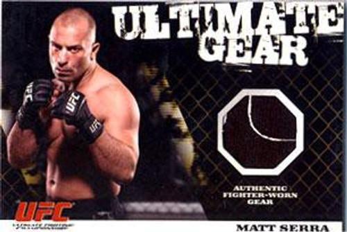 Topps UFC 2009 Round 1 Ultimate Gear Card Matt Serra [Ultimate Gear]