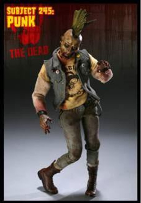 The Dead Subject 245: Punk Collectible Figure