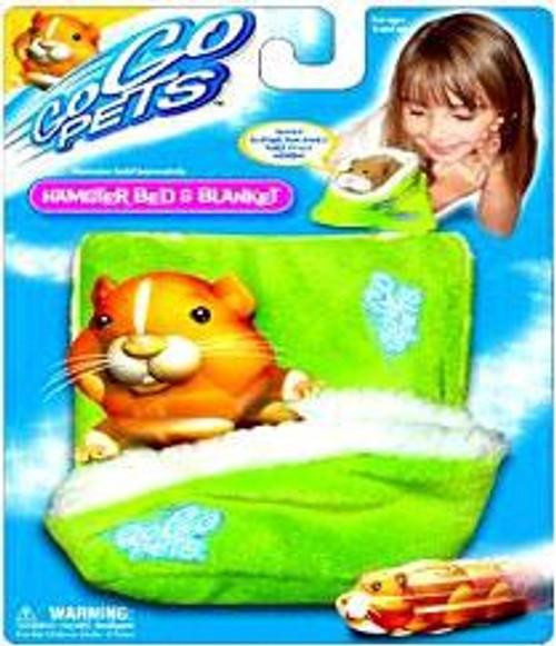 Zhu Zhu Pets Series 1 Hamster Bed & Blanket Accessory Set [Green]