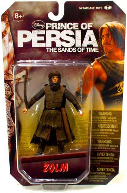 McFarlane Toys Prince of Persia The Sands of Time 4 Inch Zolm Action Figure