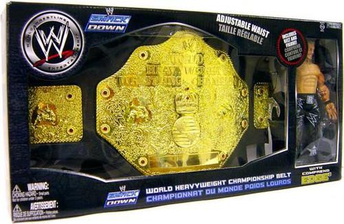 WWE Wrestling Belts Smack Down World Heavyweight Championship Belt Exclusive