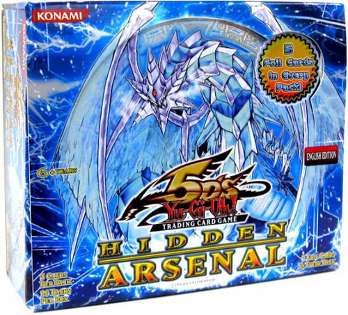 YuGiOh Trading Card Game Hidden Arsenal Booster Box [36 Packs]