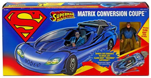 Superman Man of Steel Matrix Conversion Coupe Exclusive Action Figure Vehicle