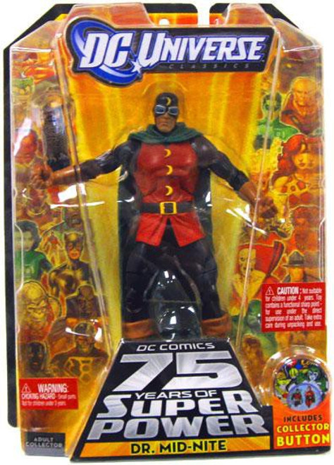 DC Universe 75 Years of Super Power Classics Darkseid Series Dr. Mid-Nite Action Figure