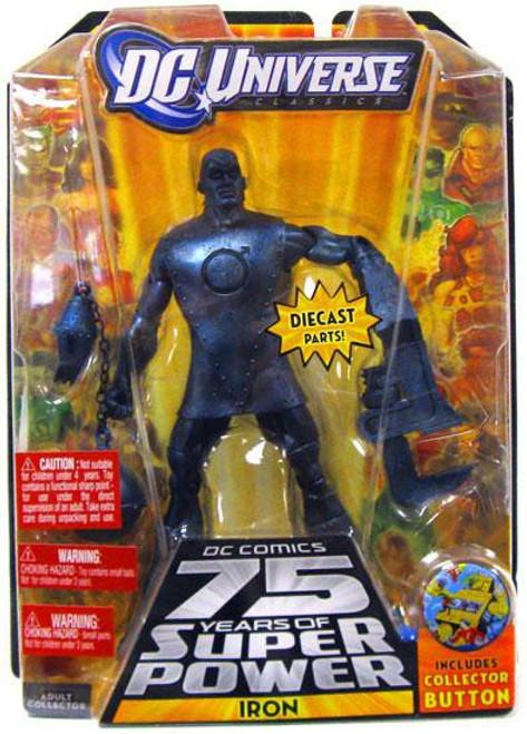 DC Universe 75 Years of Super Power Classics Darkseid Series Iron Action Figure