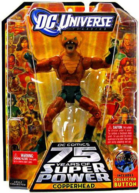 DC Universe 75 Years of Super Power Classics Darkseid Series Copperhead Action Figure
