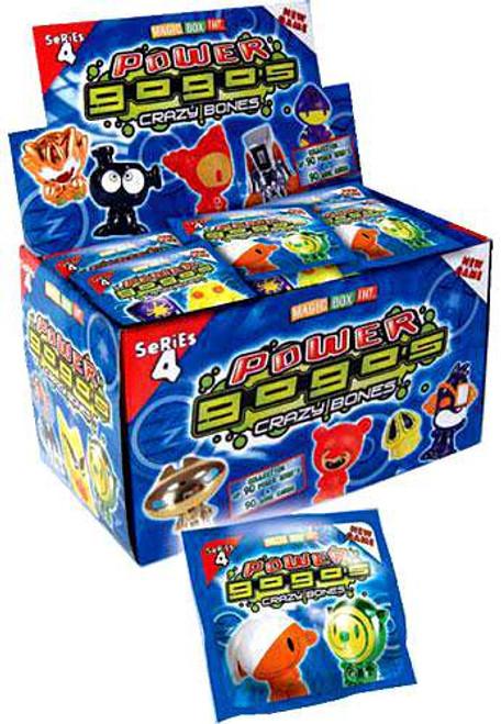 Crazy Bones Gogo's Series 4 Power Booster Box [30 Packs]