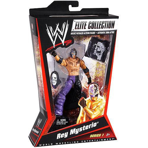WWE Wrestling Elite Collection Rey Mysterio Action Figure