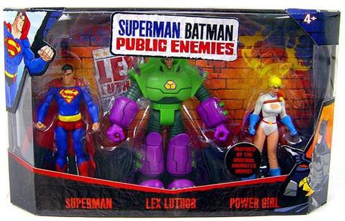 Batman Public Enemies Action Figure 3-Pack