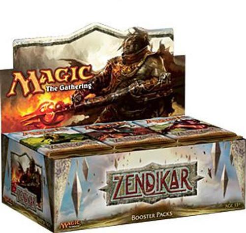 MtG Trading Card Game Zendikar Booster Box [36 Packs]