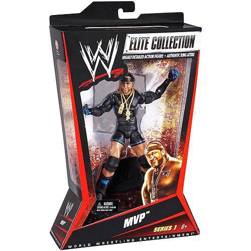 WWE Wrestling Elite Collection MVP Action Figure