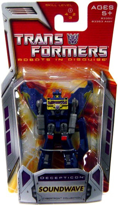 Transformers Robots in Disguise Classics Soundwave Legend Action Figure