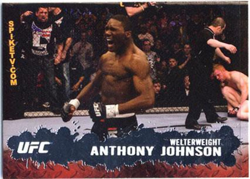 Topps UFC 2009 Round 2 Fighter Anthony Johnson #93