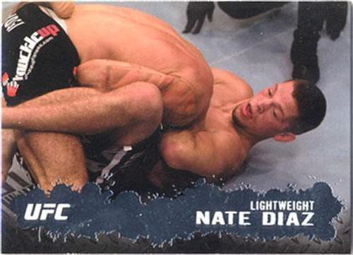 Topps UFC 2009 Round 2 Fighter Nate Diaz #3