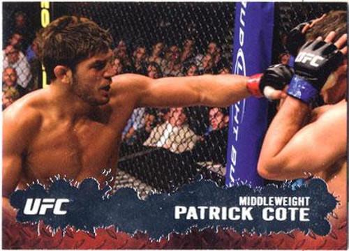 Topps UFC 2009 Round 2 Fighter Patrick Cote #96