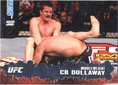 Topps UFC 2009 Round 2 Fighter CB Dollaway #5