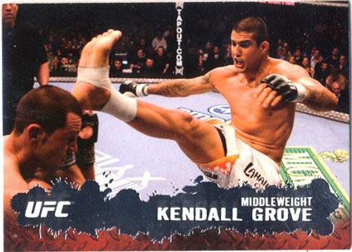 Topps UFC 2009 Round 2 Fighter Kendall Grove #97